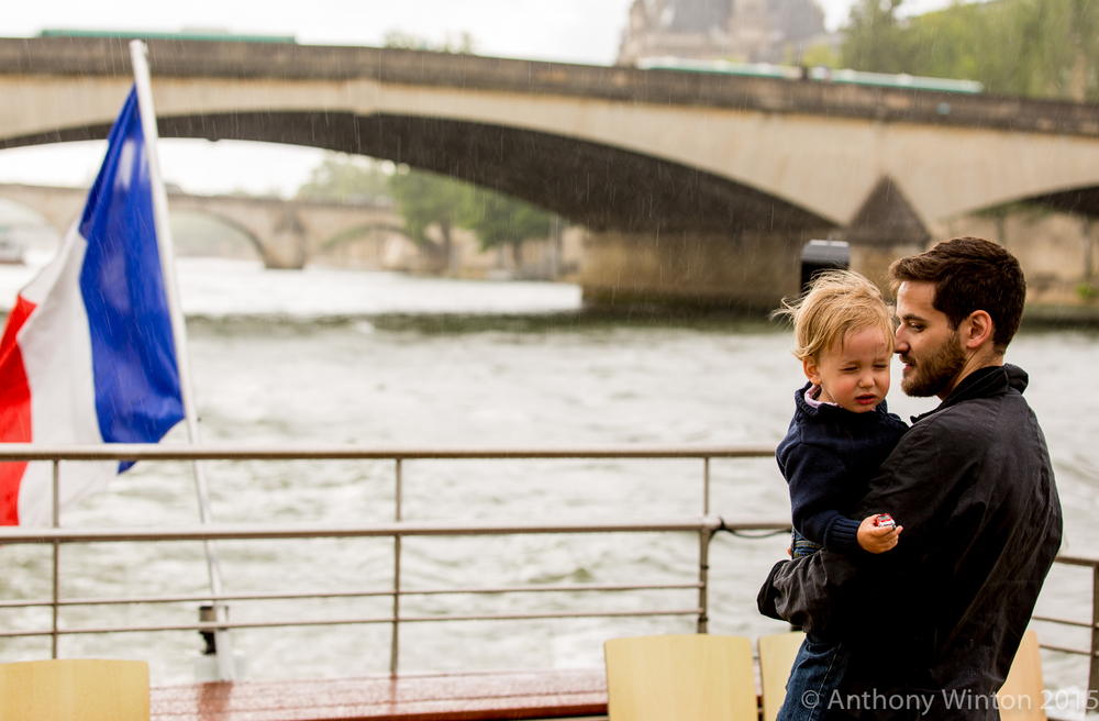 Father and Child, Paris