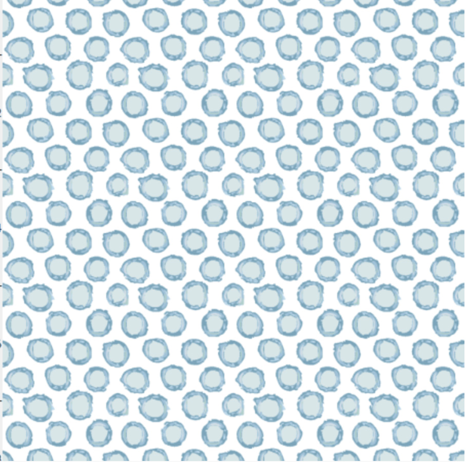 Camo Circles Small- Chambray