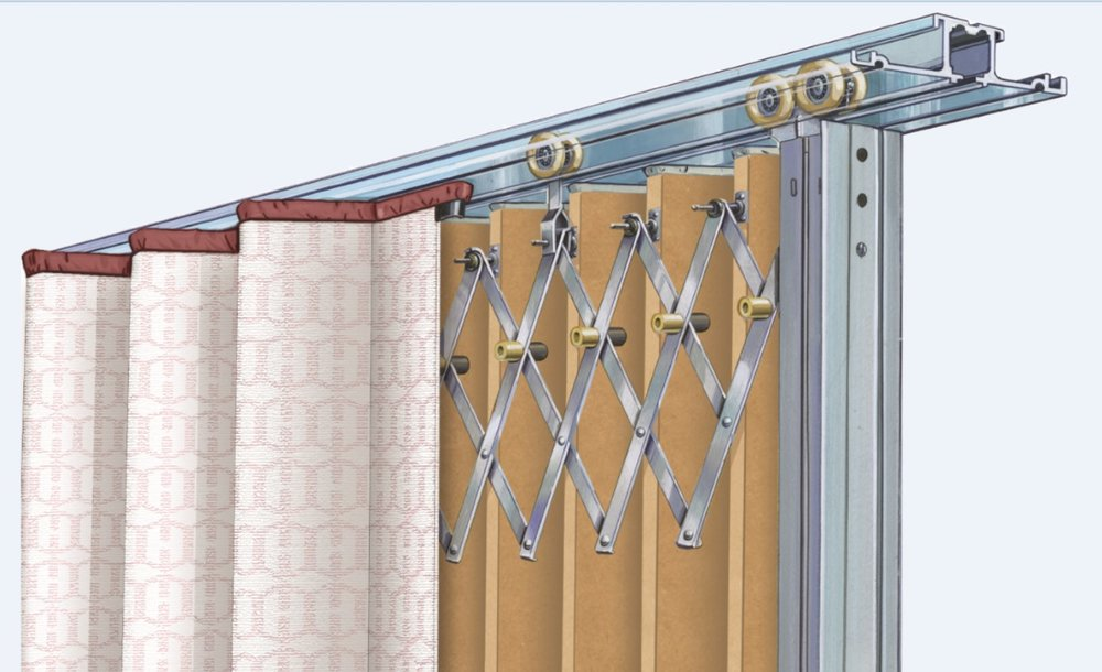 Available in a wide range of fabrics and acoustical ratings Hufcor accordion doors can be custom designed manufactured to suit the specific needs of your ... & Hufcor u2014 MJD Associates of CNY