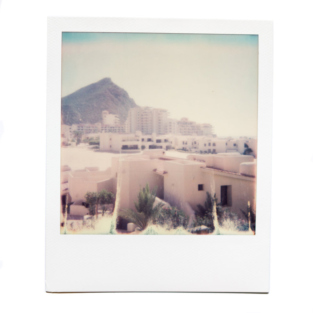 karina cruz, cabo, 2016. polaroid film.