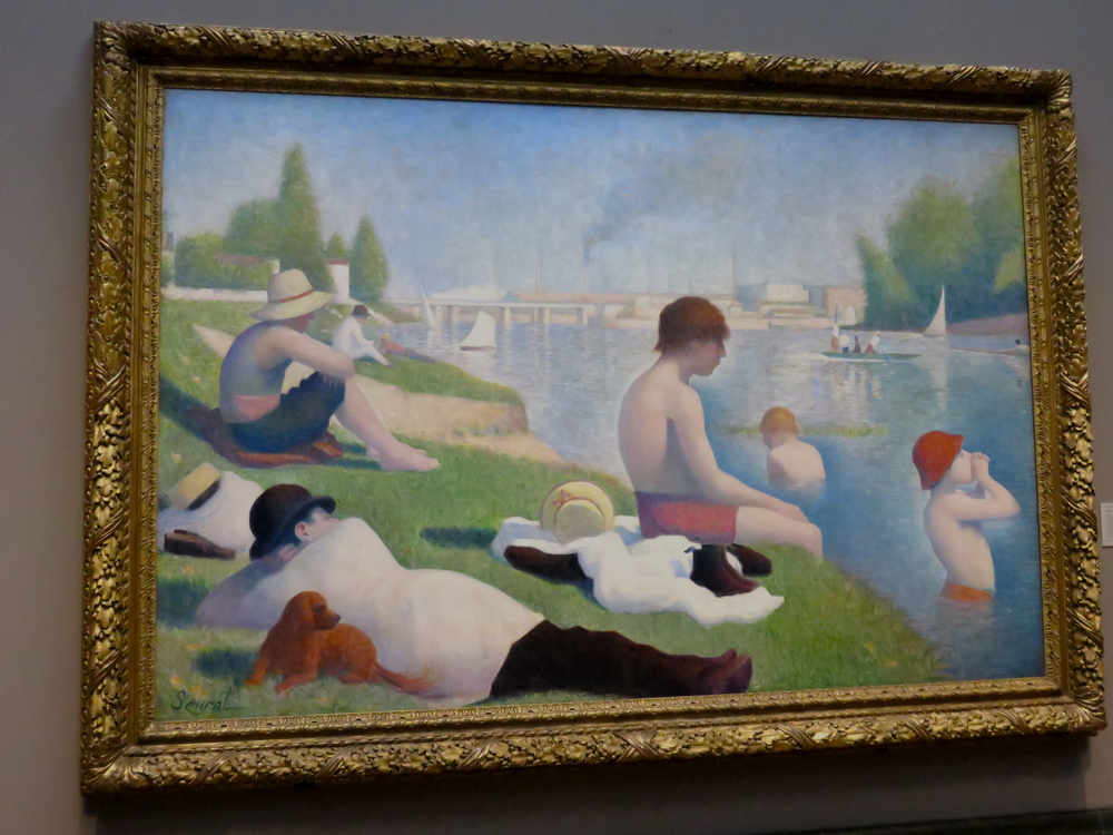 Georges Seurat Bathers at Asnieres