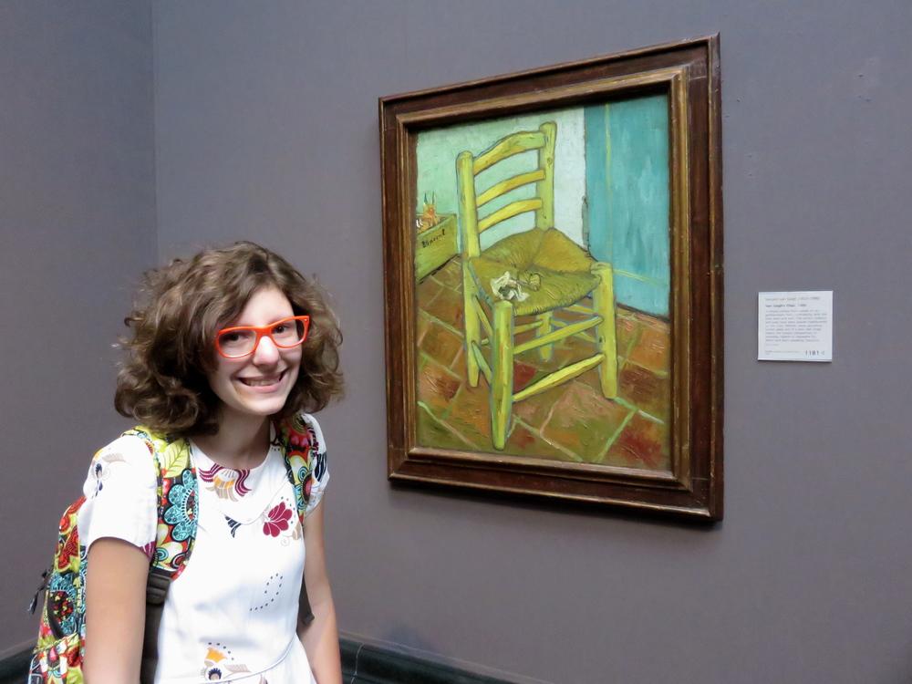Vincent van Gogh Van Gogh's Chair