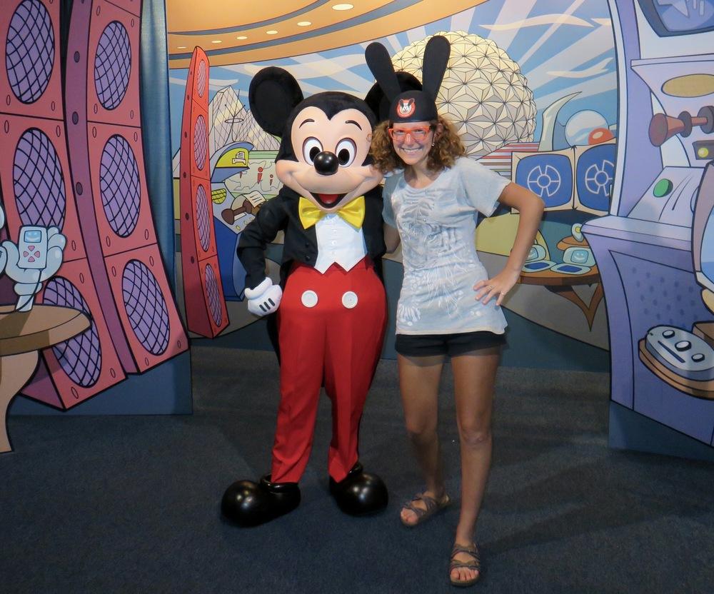 Mickey and Sara