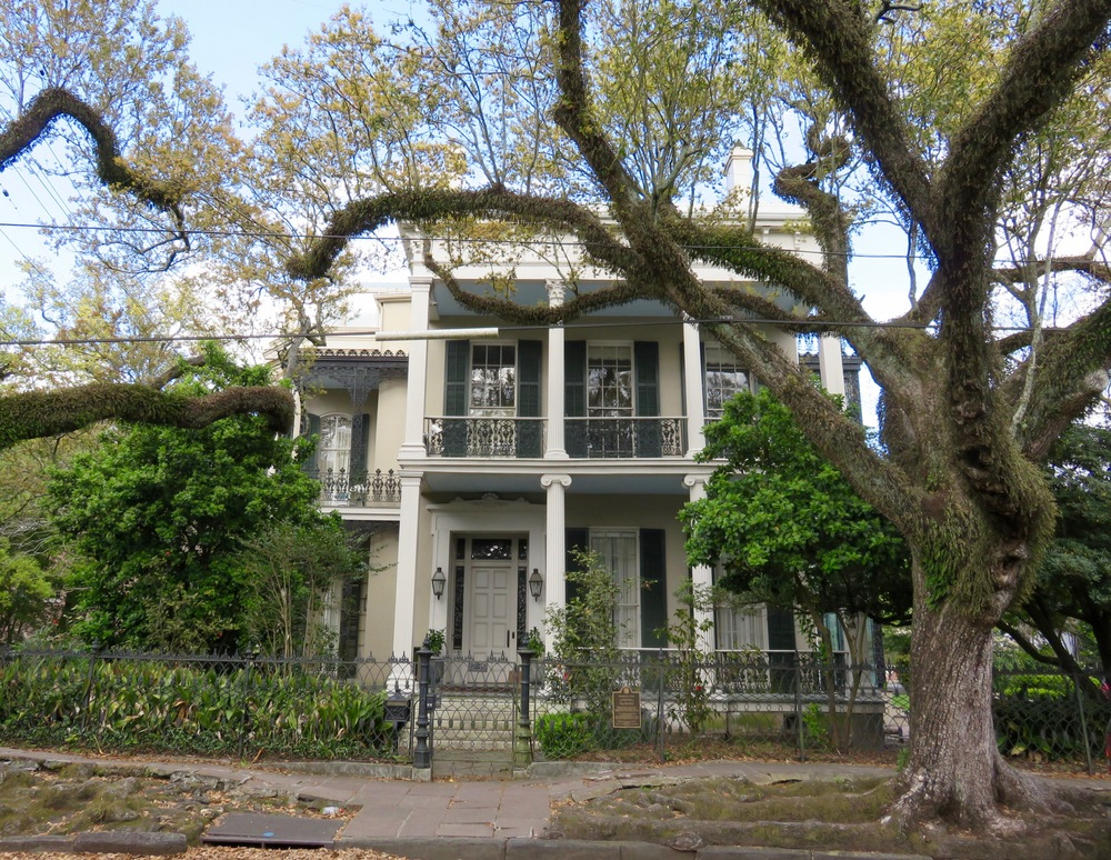 Former home of author Anne Rice.