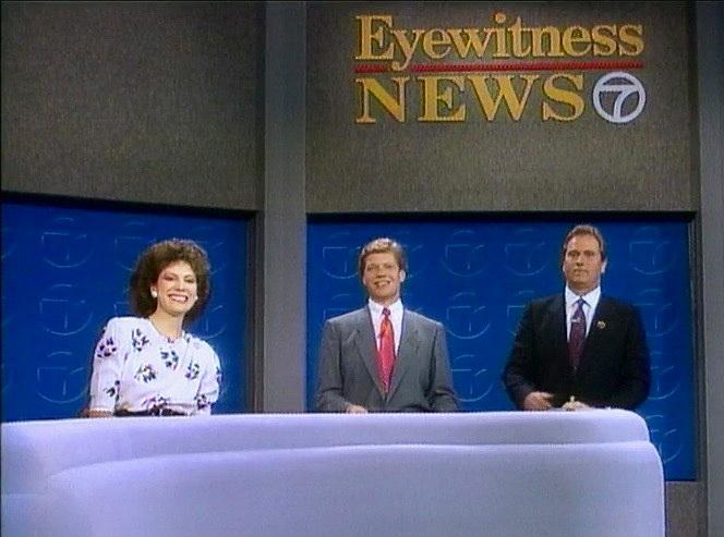 The original Morning Show team with Alan Krashesky and Jerry Taft.