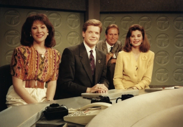 Kathy Brock joined the morning newscast in 1990.