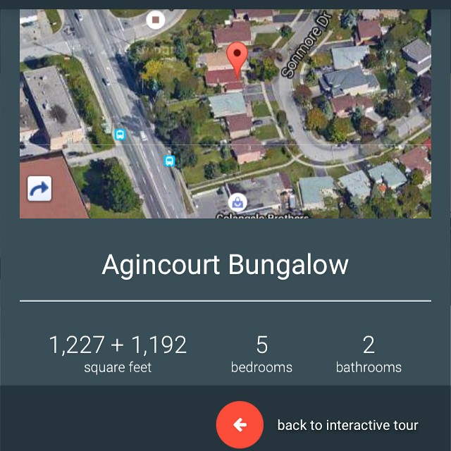 Thank you to everyone whose been giving us great feedback on our interactive walkthrough guides.    This one is of our new listing at 26 Sonmore Drive in #Agincourt. One of our favorite pockets of #scarborough. These guides are mobile and tablet friendly and offer a #birdseye view too.    #marketing #realestate #torontorealestate #scarboroughrealestate #eastGTAliving #remax #remaxhallmark