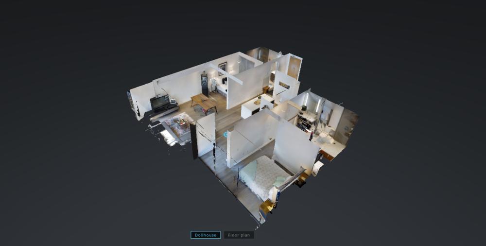Interactive Virtual Walkthrough