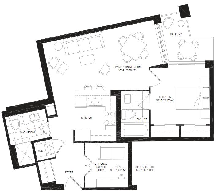 Floorplan of 8130 Birchmount Road #501