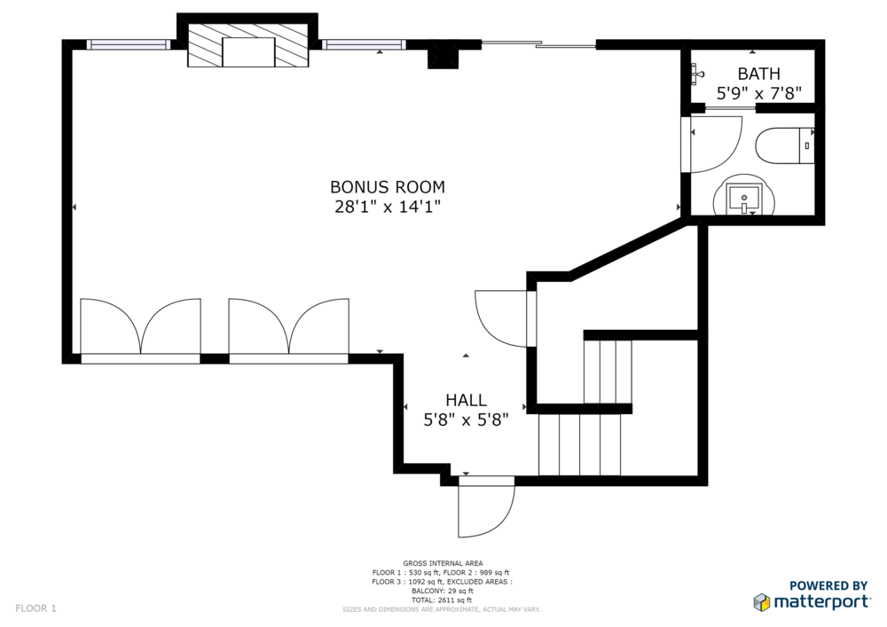 Floorplan | 11 Bradbury [Basement]