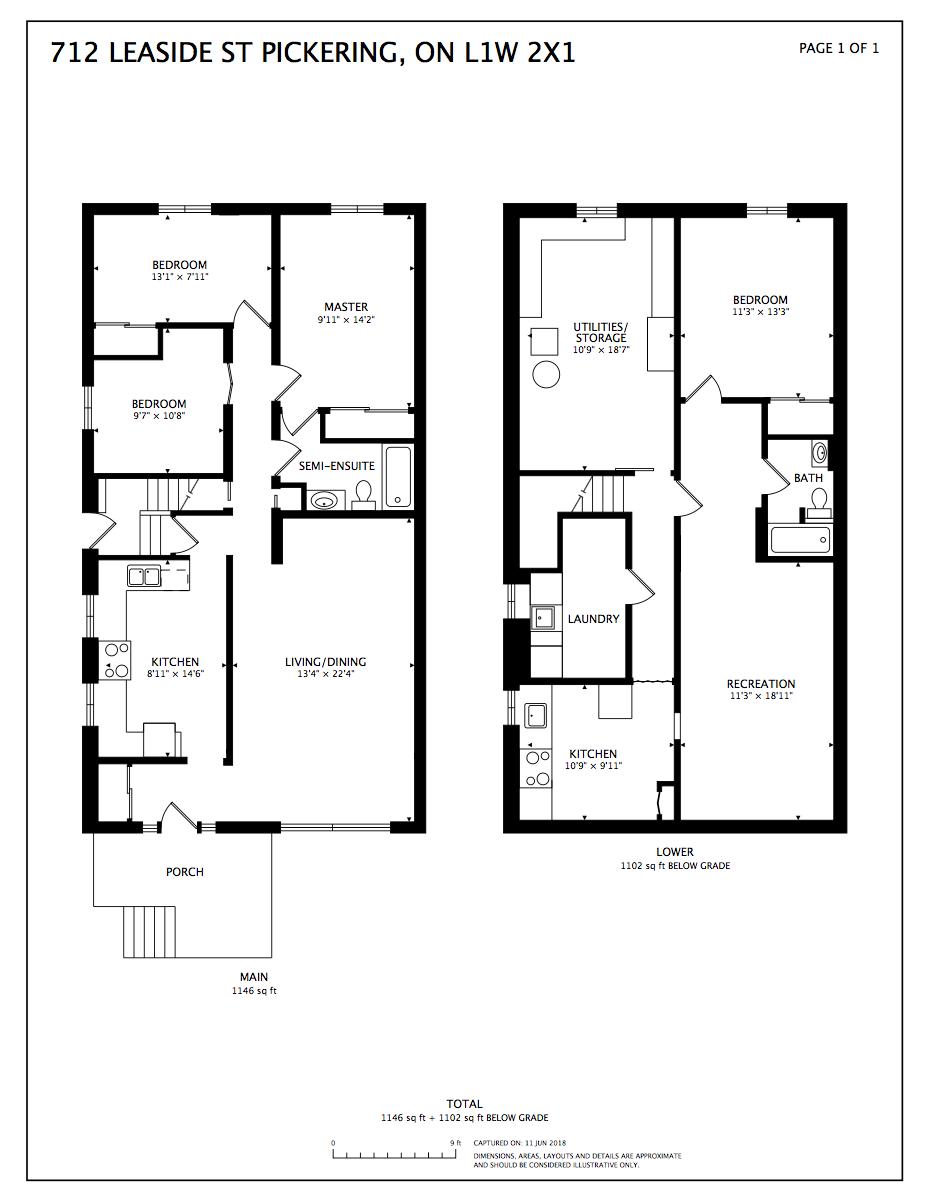 Floorplan 712 Leaside St