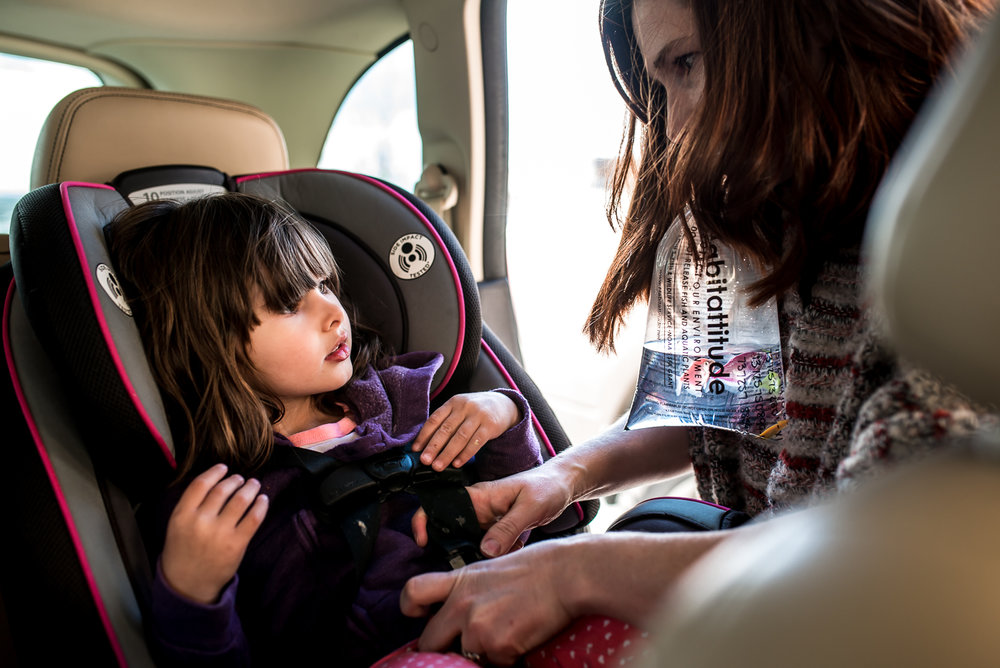 car seat milton family going home documentary photography