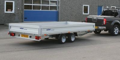 Professional flatbed trailer