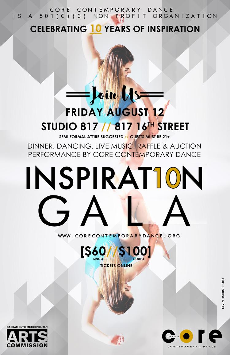 10th Anniversary Gala At Studio 817 CORE Contemporary Dance