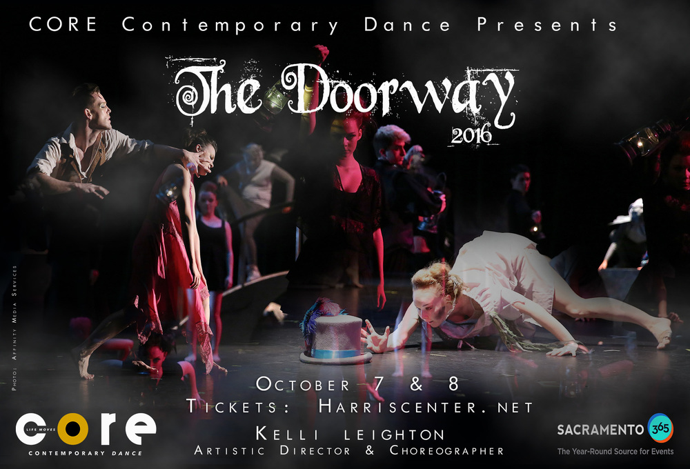 "Join us for the 6th Season of Kelli Leighton's mysterious, whimsical, and athletic work, ""The Doorway""."