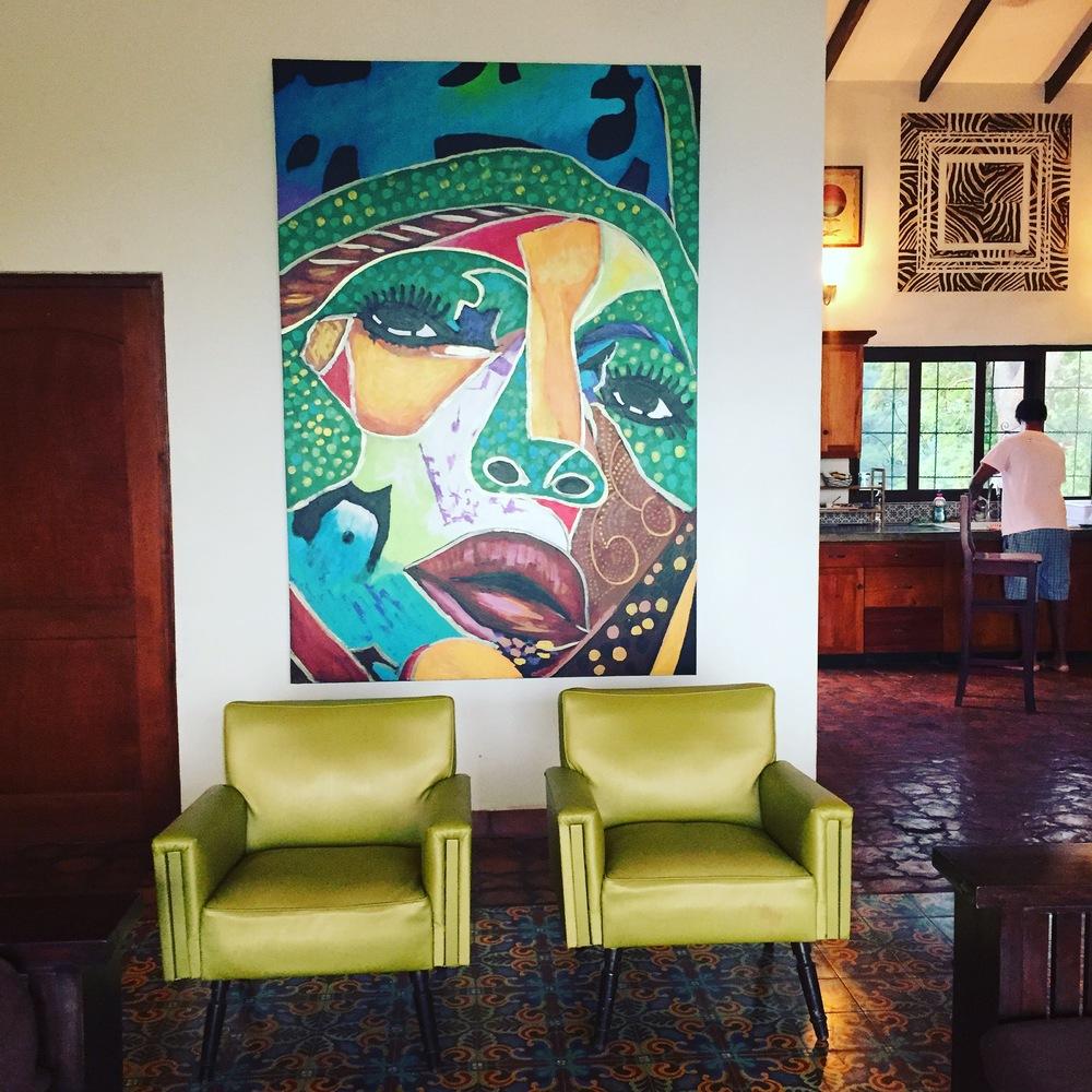 Artesano Hotel y Café. Está foto fué difícil escogerla, porque cada esquina del lugar es linda.