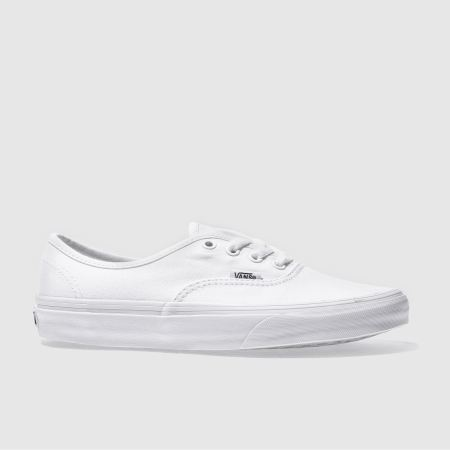 Vans Authentic White Trainers