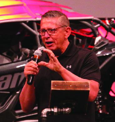 Pastor Dan Berry