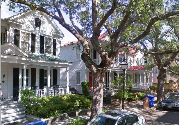Narrow Homes in Charleston, SC
