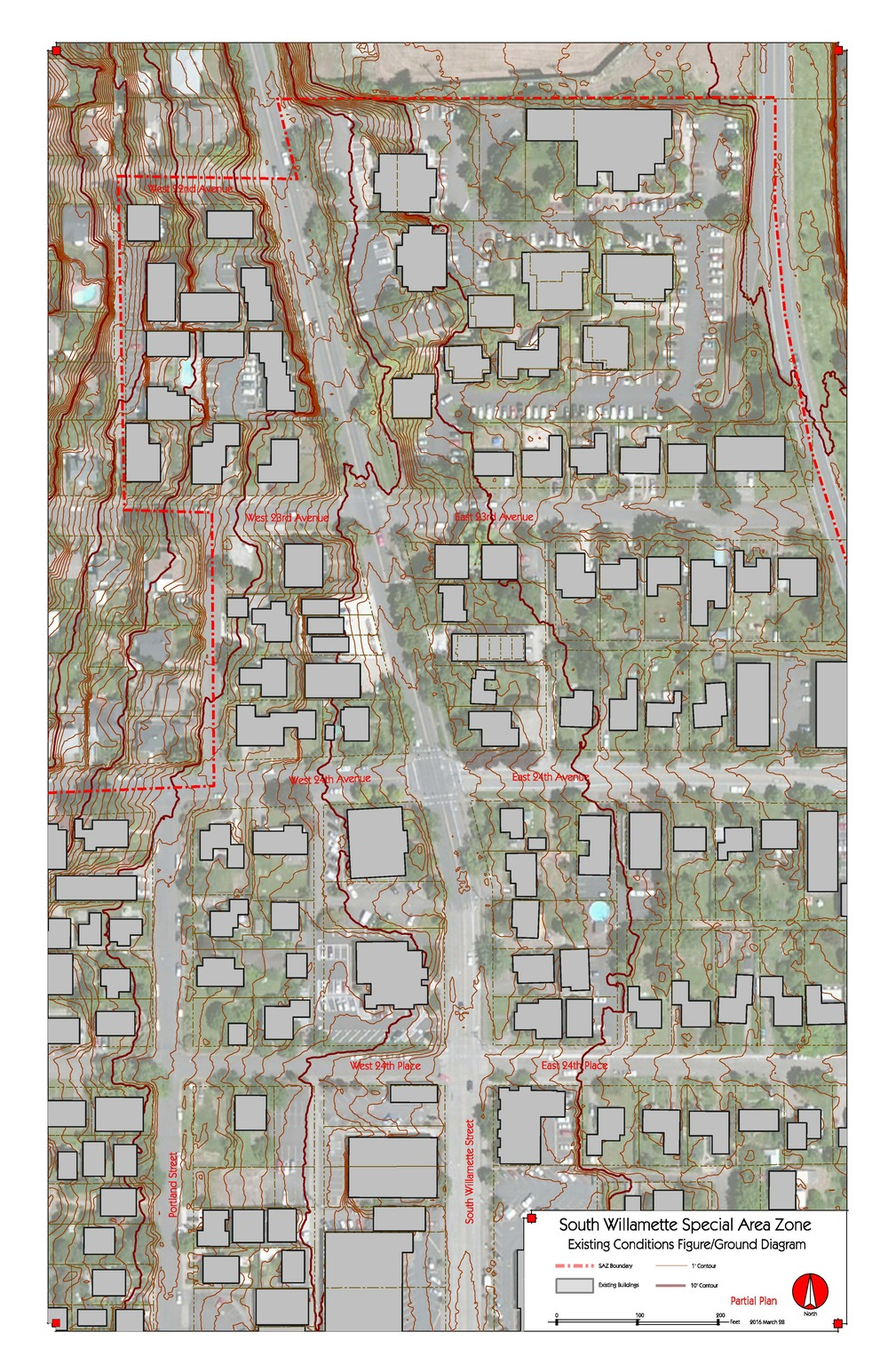 Willamette Street Detail Sheets