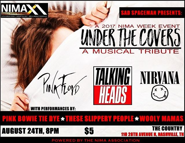 Tonight ! Come spend some quality time with your Wooly Mamas and catch our all-Nirvana cover set