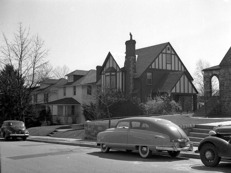 Holly Street (south side) west of 12th Street NW, ca. 1949