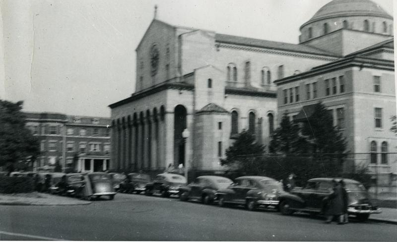 Sacred Heart Catholic Church, ca. 1948