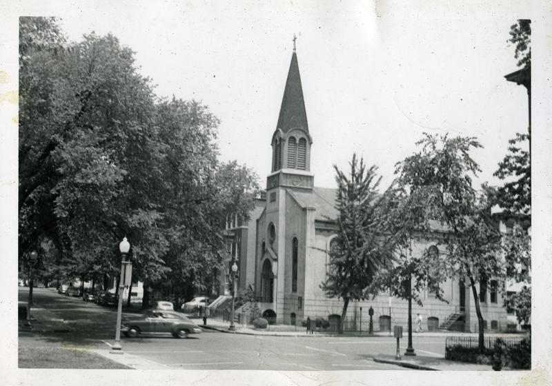 Trinity Lutheran Church, 4th and E Streets NW, ca. 1951