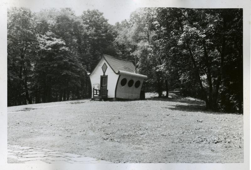 Tool and equipment shed, Langdon Park, ca 1948