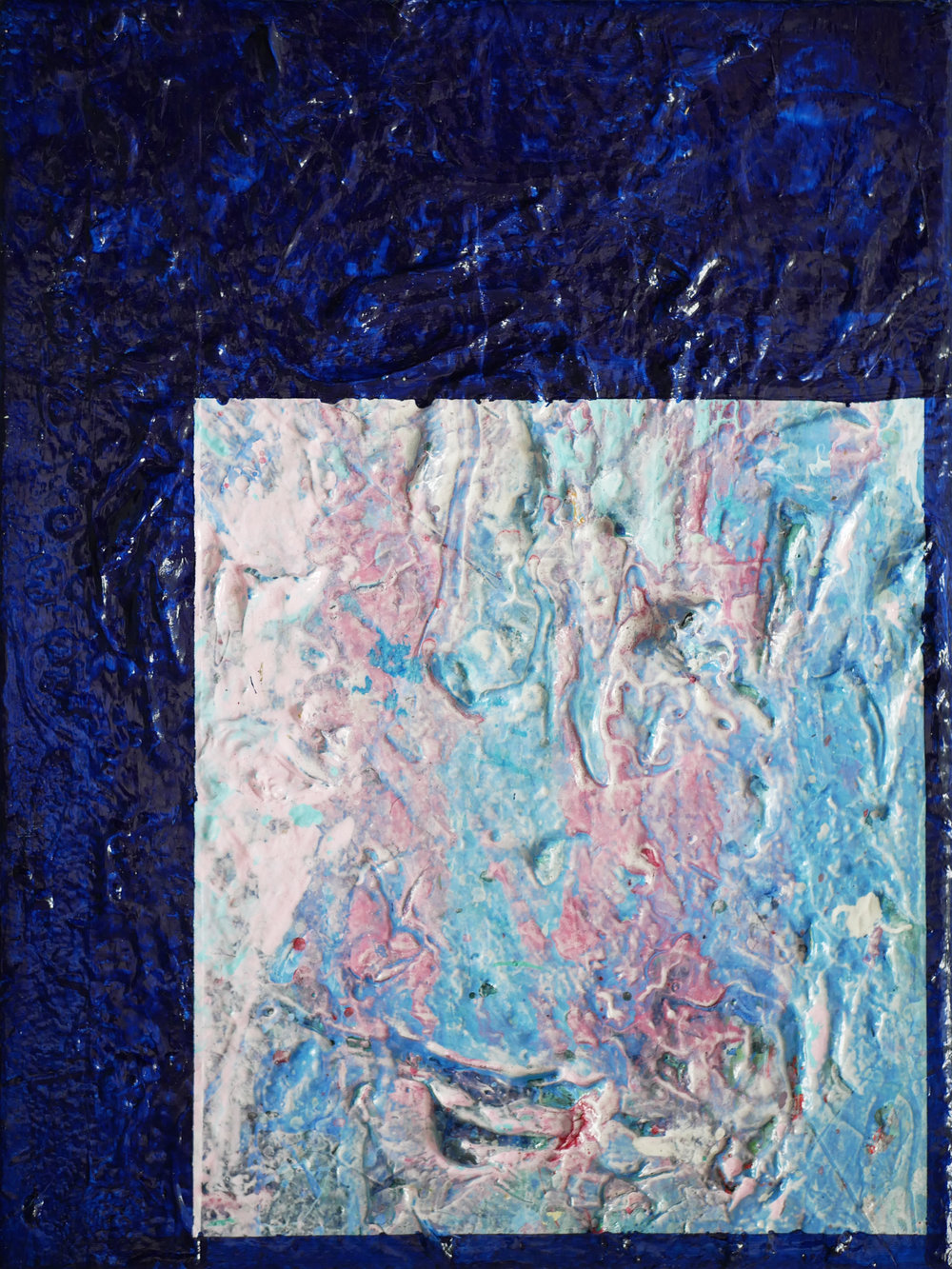 UNTITLED   2013 Acrylic on canvas 12 x 9 in 30.4 x 22.8 cm