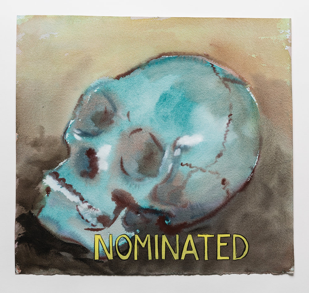 Nominated  2015 watercolor, gouache and ink on paper   15x16""