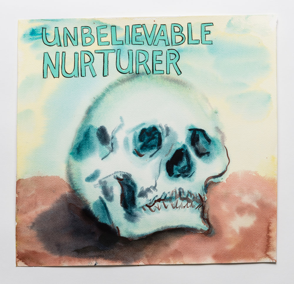 Unbelievable Nurturer  2015 watercolor, gouache and ink on paper