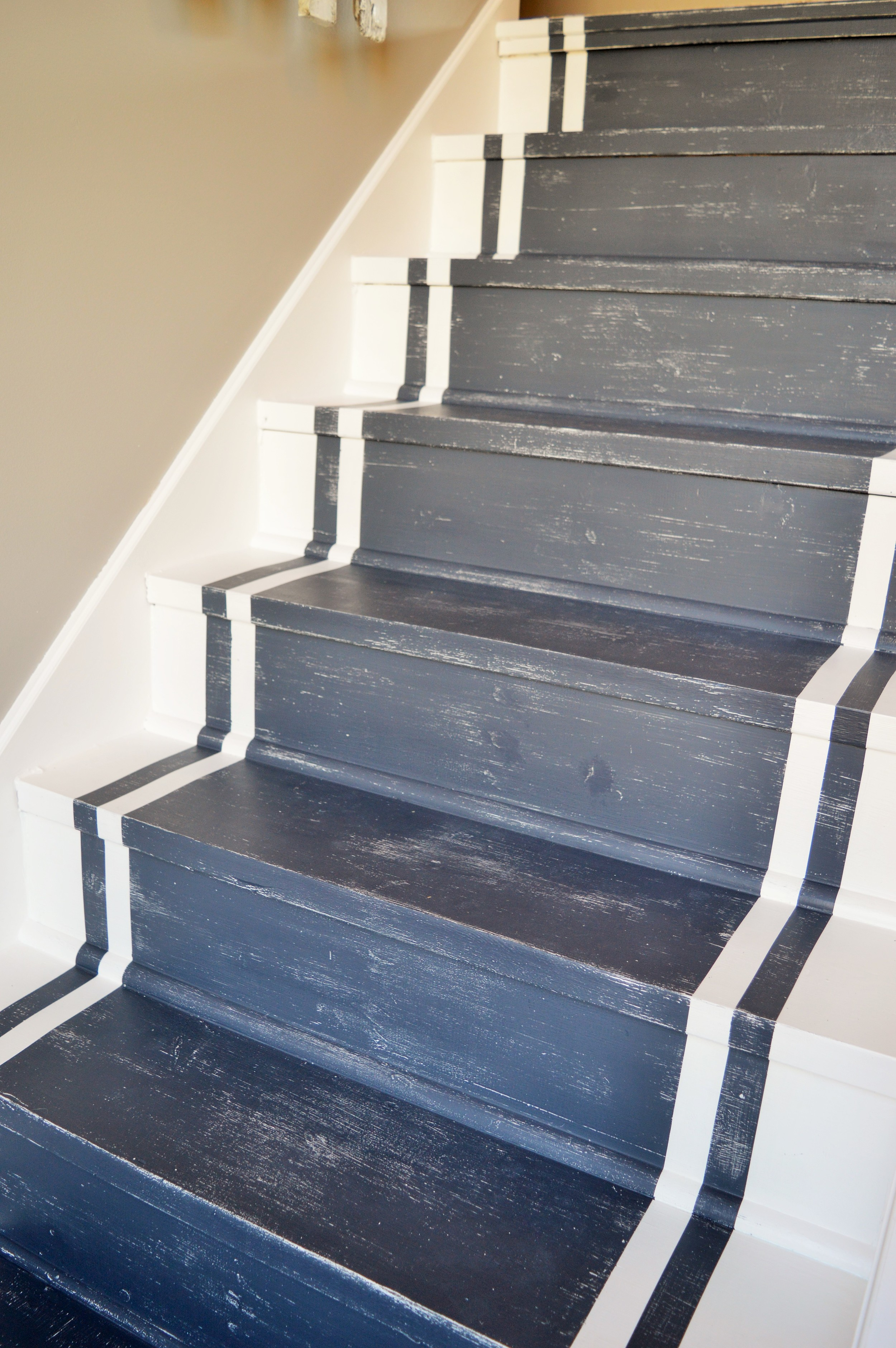 From Drab To Fab Diy Staircase Remodel The Other Side Of Neutral