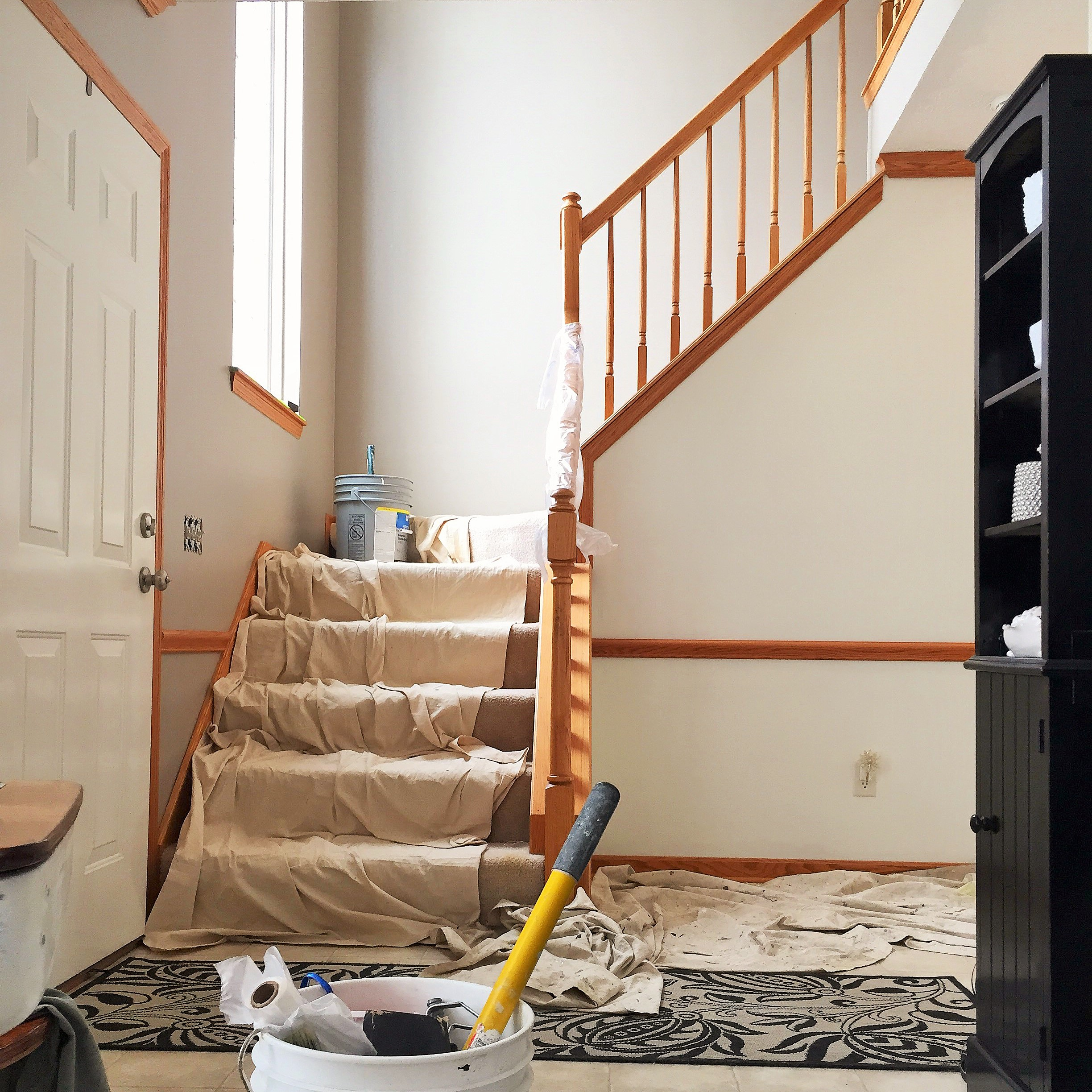 Staircase Remodel: DIY Staircase Remodel