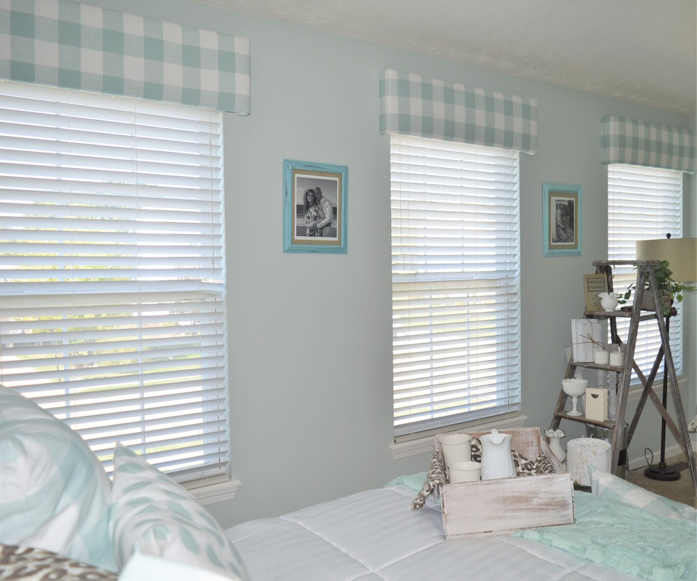 Wood Cornice Boards DIY Window Treatment The Other Side of Neutral