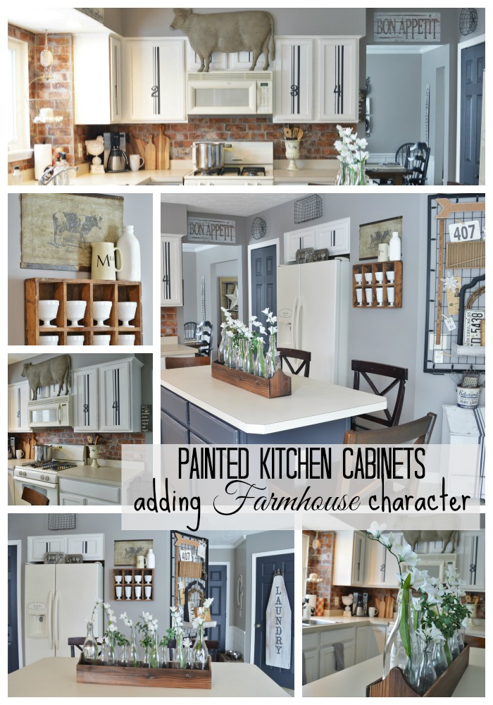 farmhouse kitchen cabinets. Farmhouse Kitchen Remodel Painted Cabinets  Adding Character The Other