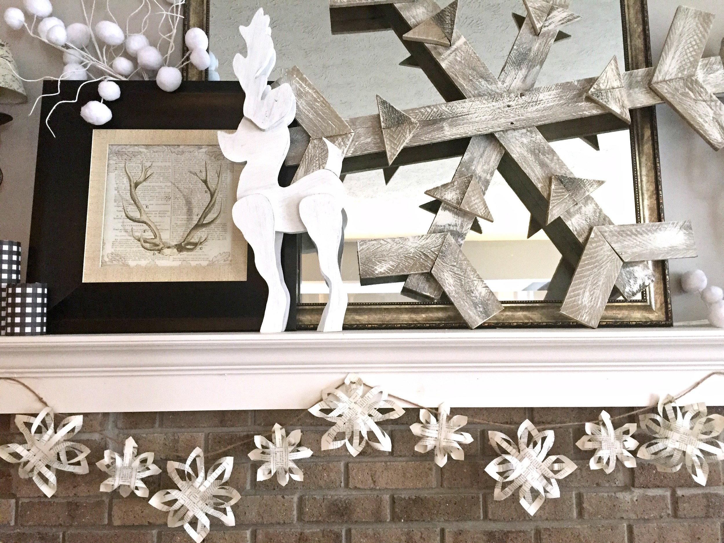 DIY 3D Paper Snowflake Garland - Tutorial — The Other Side