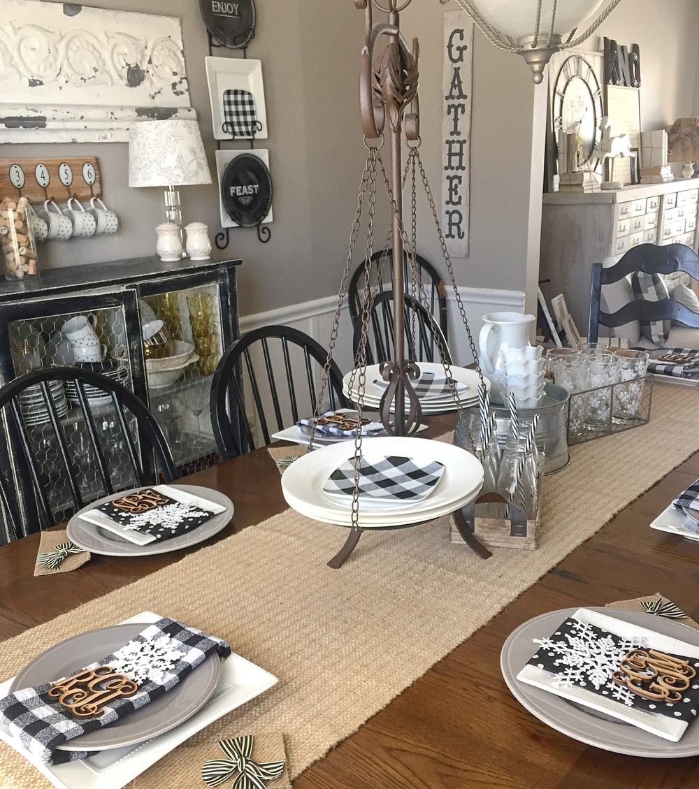 Our Dining Room Is The Most Changing Space As Far Decor Goes I Love To Keep My Table Set And Switch It Up For Seasons