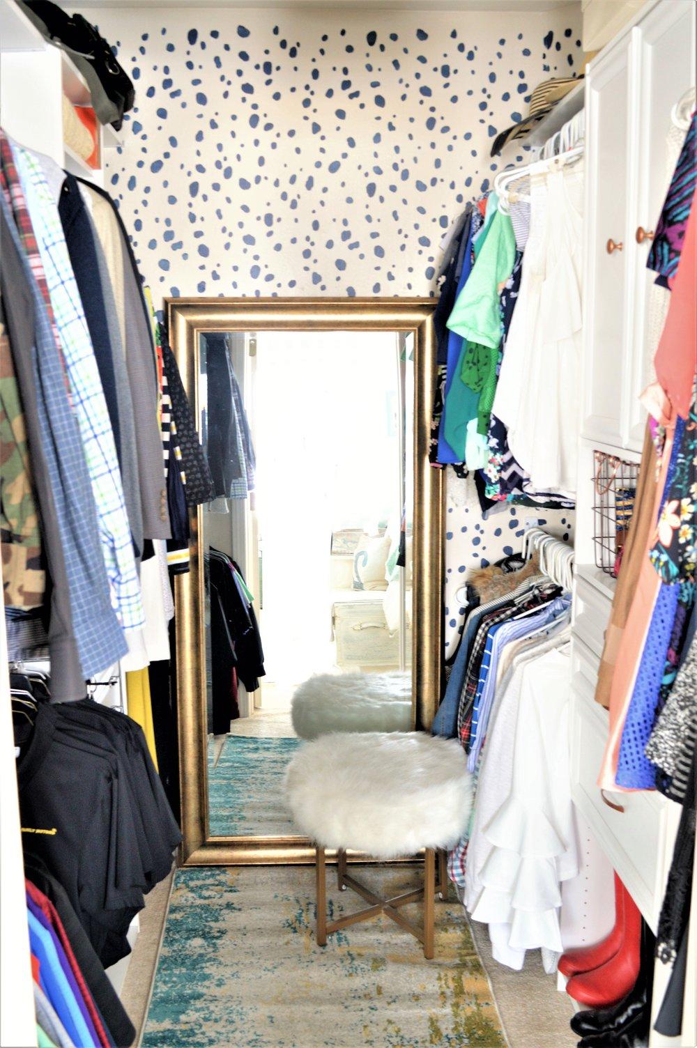 Master Closet Makeover