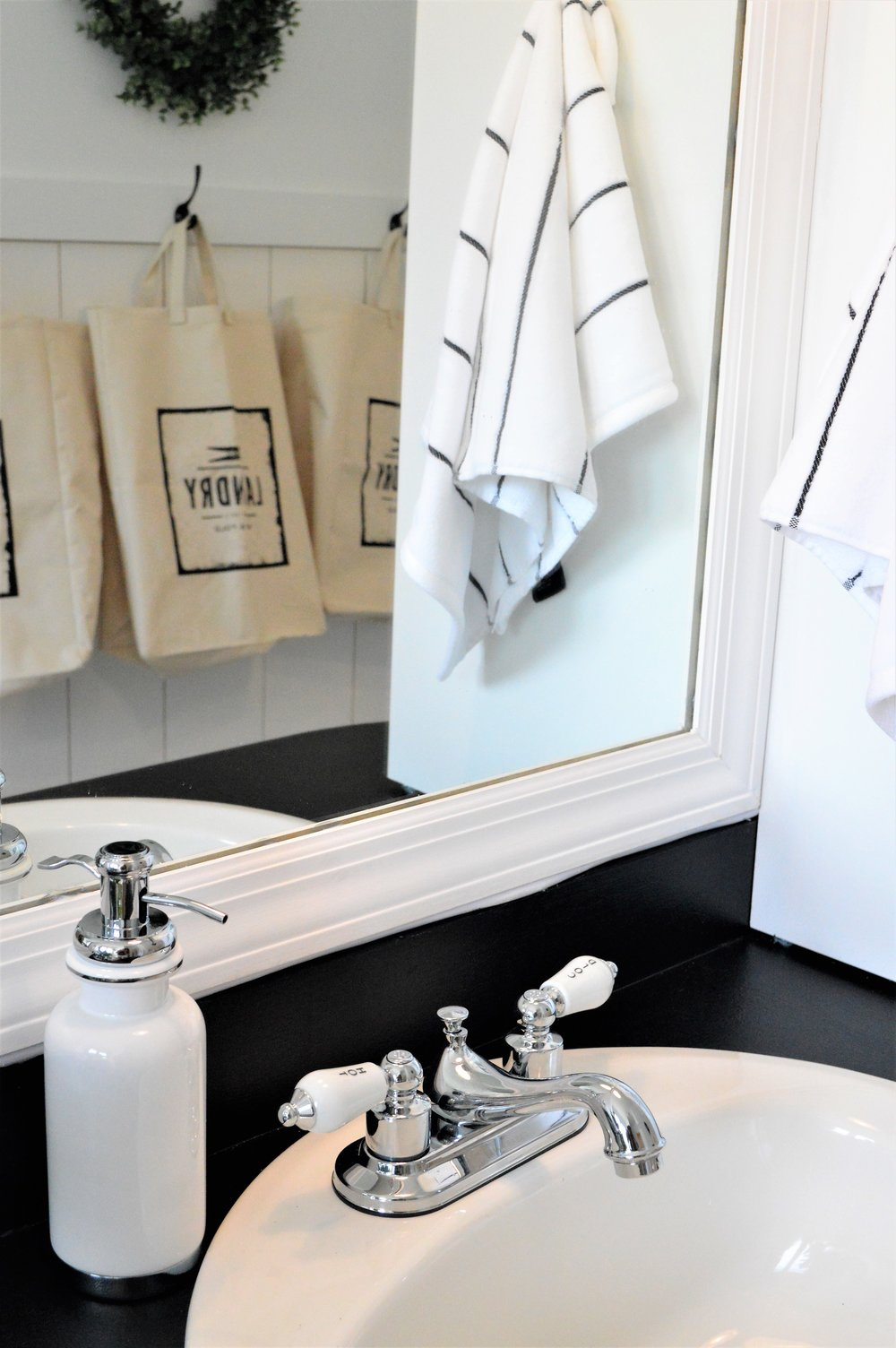 Master Bathroom Makeover Modern Farmhouse