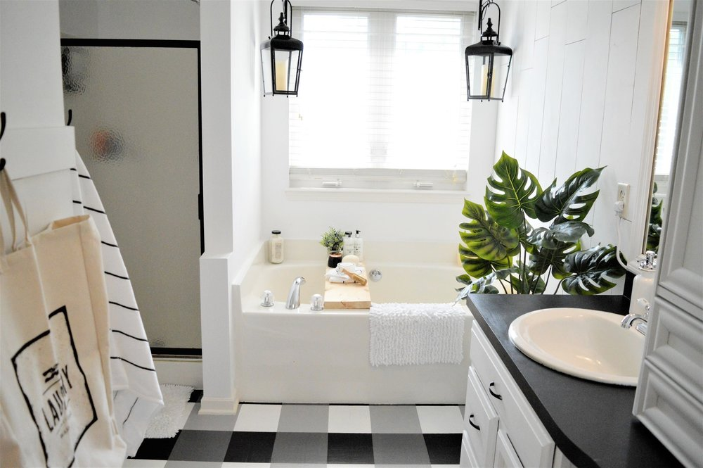 Master Bathroom Makeover Modern Farmhouse