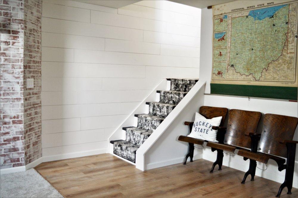 basement family room design