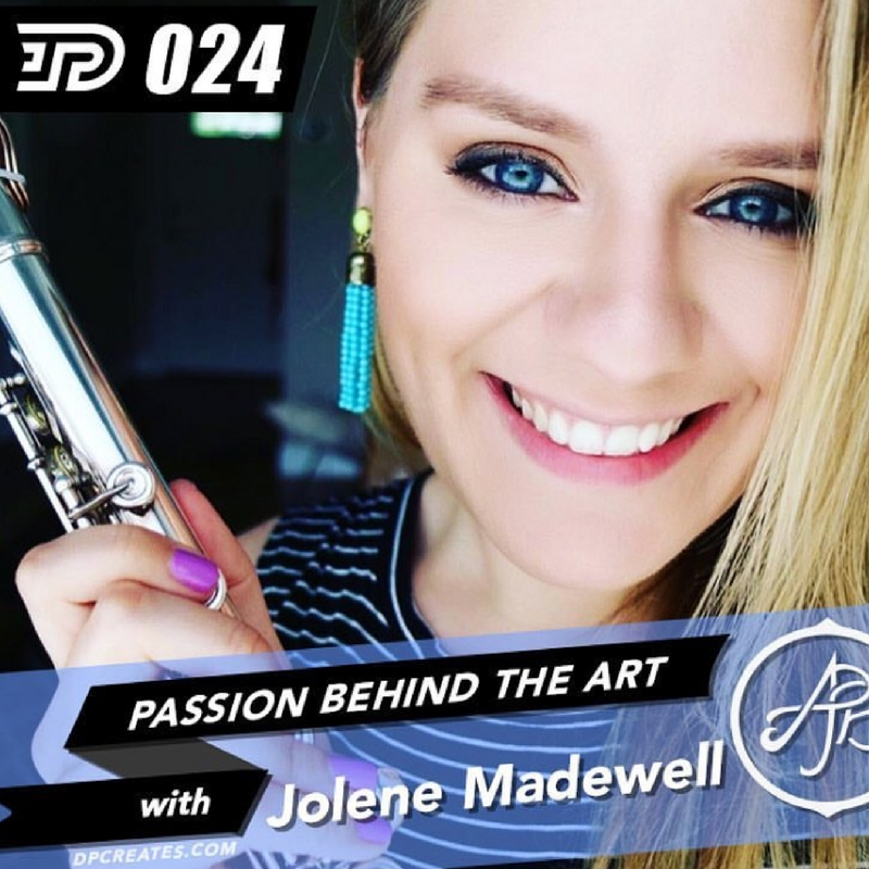 Passion Behind the Art Podcast: Jolene Madewell