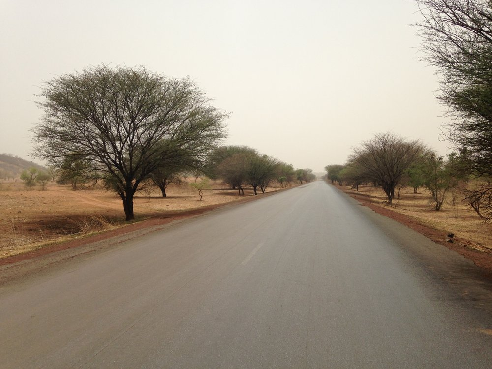 RN 1, outside of Didiéni. Mali.