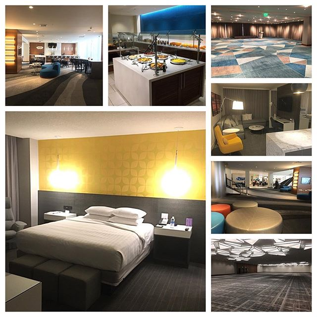 Had an incredible site visit this morning at the @hyattregency_lax . Beautiful rooms and meeting space... including an awesome penthouse meeting room currently under renovation with panoramic views of the airport activity (Mike's an airport geek so he was excited). Sometimes clients tend to avoid airport hotels for a myriad of reasons... this is definitely one to consider the next time you're meeting in LA!  #eventprofs #lovewhatyoudo #sitevisit #airportjunkie