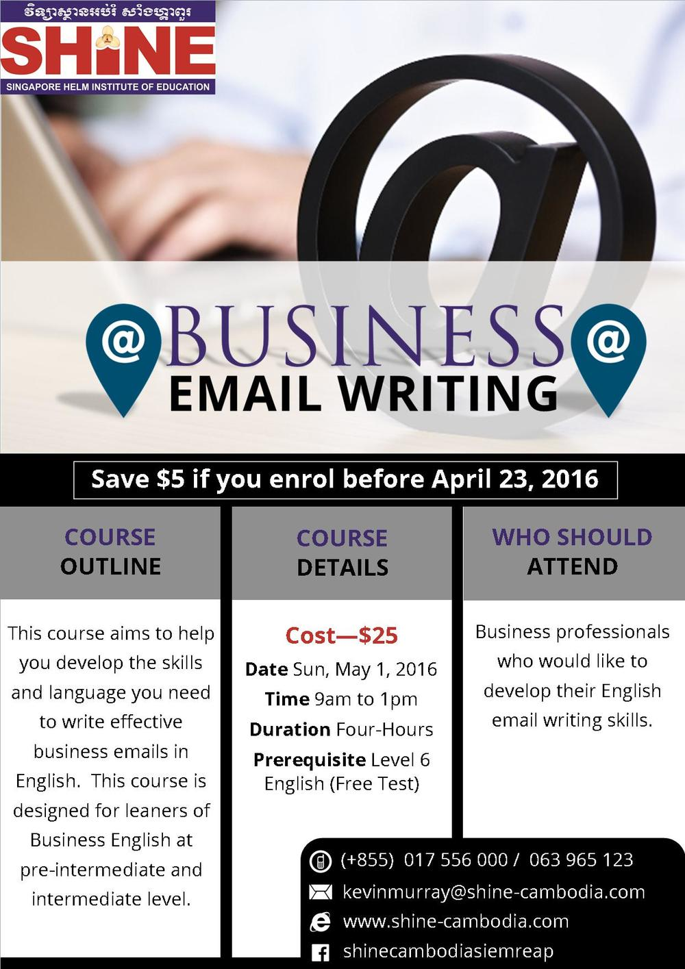 Business Email Writing Workshop