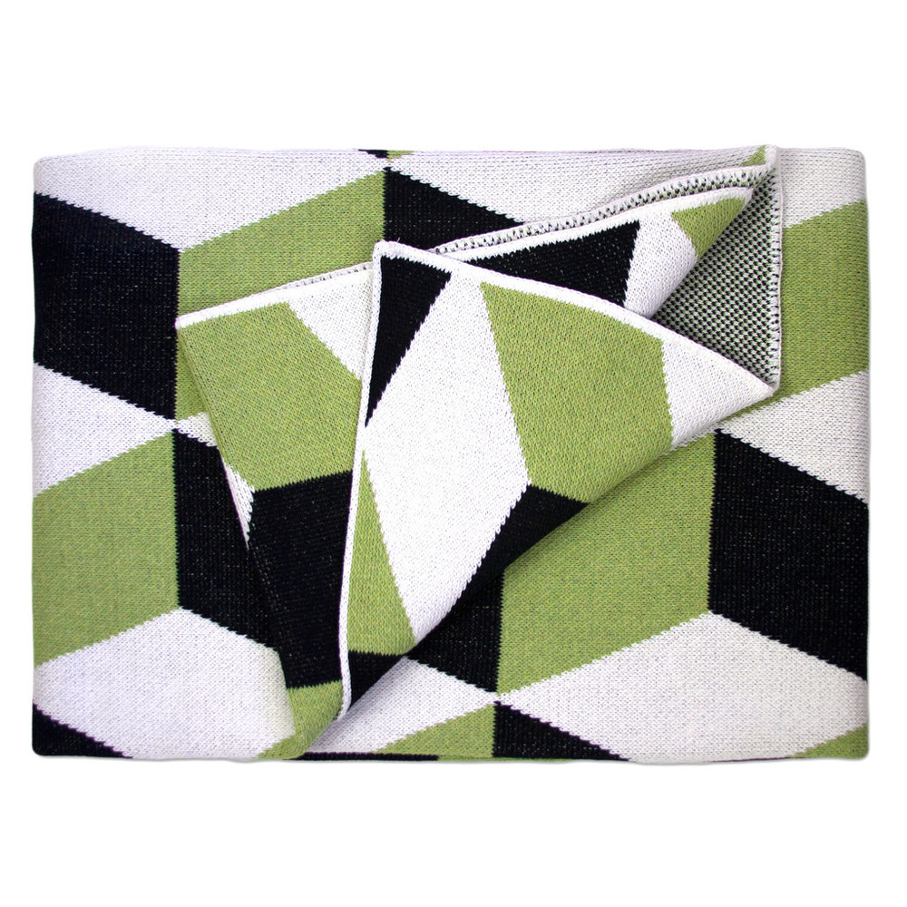 Taormina Pavone Cotton Throw Blanket