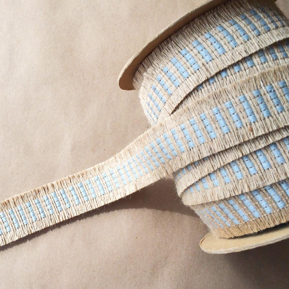 Basketweave Jute Cut Spa