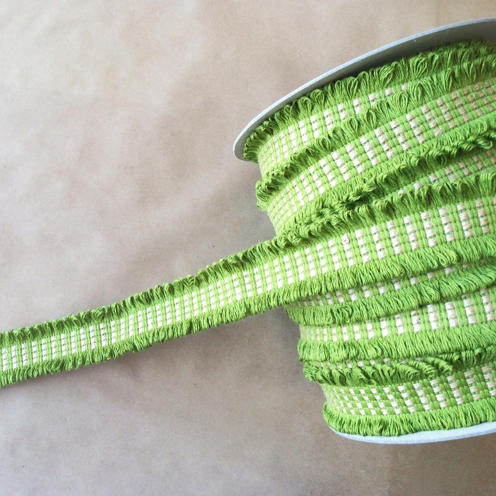 Basketweave Loop Bamboo Jute