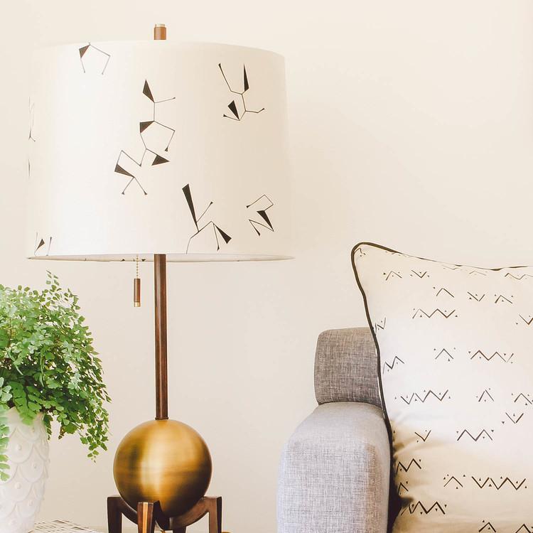 Ituri Lampshade & Loxo Cushion